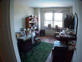 Hoarding bedroom after